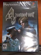 Resident Evil 4 for PS2 - New and Sealed! Free Shipping!