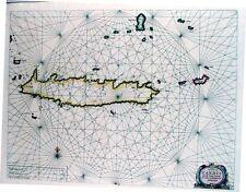 Antique map, Pascaerte van Candia