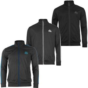 Lonsdale Men's Track Top Jacket S M L XL 2XL 3XL 4XL Training Jacket New