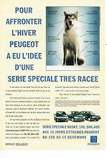 Publicité Advertising 078  1994   Peugeot série Husky  106 306 405