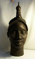 TETE de REINE bronze d'Ifé YORUBA Bini Edo NIGER Nigeria  L'Art de Benin