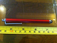 Stylus Pen Dabber for iPad Etc Tablet Ebook Reader Spare Bright Shiny Red
