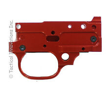 STRIPPED TRIGGER HOUSING BILLET CNC MACHINED FOR RUGER 10/22 - SATIN RED