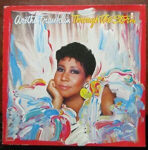 ARETHA FRANKLIN THROUGH THE STORM LP Arista Germany 209842 1989