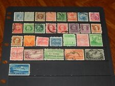 Latin Caribbean stamps - 29 mint hinged and used early stamps - nice group !!