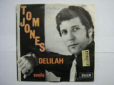 TOM JONES 45 TOURS BELGIQUE DELILAH+