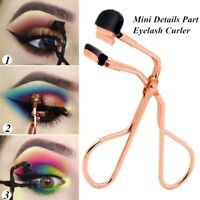 Portable Eyelash Curler w/ One Refill Beauty Makeup Tool Eye Lashes Curling Clip