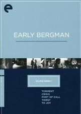 Early Bergman Box Set [5 Discs] [Criterion Collection (2007, DVD NEUF)5 DISC SET