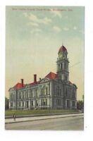 DE Wilmington Delaware antique post card New Castle County Court House