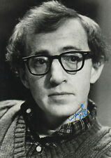 Woody Allen Autogramm signed 20x30 cm Bild s/w