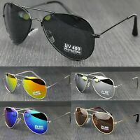 Children Boys Girls Classic Pilot Metal Frame Sunglasses UV400 Protection