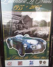 L'aventure Le Mans- MGA at Le Mans- 1955-2005- framed picture