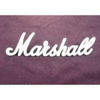 MARSHALL LOGO MARK White Vintage for 1987X LOGO00009 Japan W:150mm F/S