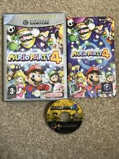 MARIO PARTY 4 GAMECUBE GAME UK PAL version - BOXED WITH MANUAL VGC