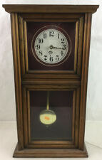Noel Woodcraft Mantel Clock Lot 2228