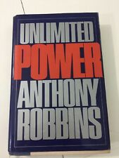 Unlimited Power - Anthony Robbins (1986, Hardcover, Dust Jacket)