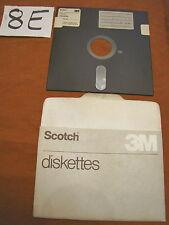 Floppy disc 5.25 inch 5 1/4 Commodore 64 Scotch 3M scritta copia magazine 18 10