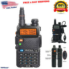 Radio Scanner Handheld Police Fire Transceiver Portable Antenna Two Way EMS HAM