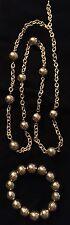 "BRAND NEW - Premier Designs""CHEVRON"" Gold Necklace/Bracelet - NIB - RV $105"
