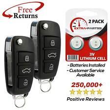 2 For 2006 2007 2008 2009 2010 Audi A4 Keyless Entry Car Remote Flip Key Fob