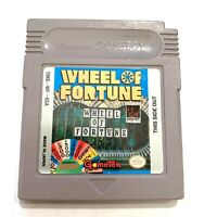 Wheel of Fortune ORIGINAL Nintendo Game Boy GAME TESTED WORKING AUTHENTIC!