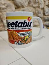 Weetabix mug / cup 80s cereal box cartoon retro vintage