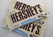 Hersheys chocolate bar cookies and cream 3 bars America Candy sweets usa creme n