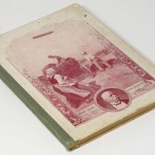 German Biography Book 1908 of Graf Ferdinand von Zeppelin - Airship Blimp 1st Ed