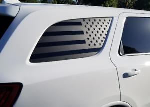 USA Flag Decal Rear windows Fits Dodge Durango 2011-2020 Side American DD1