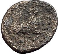 KASSANDER 316BC Pella Macedonia HERCULES LION Original Ancient Greek Coin i62769