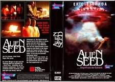 "VHS - FSK 18 - "" Alien SEED - Angriff aus der Galaxis "" (1989) - Erik Estrada"