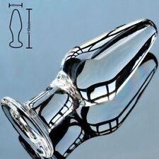 Glass Butt Plug-Anal Sex - Medium Size Toy - 38mm - FREE Shipping