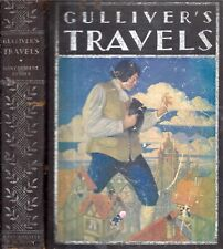 1930 GULLIVER'S TRAVELS COLOR PRINTS ILLUSTRATED CLASSIC GIFT IDEA SWIFT