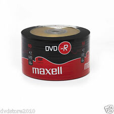 50 DVD -R Maxell vergini STOCK 4.7GB 120MIN 16X SHRINK 50 + 1cd verbatim 275732