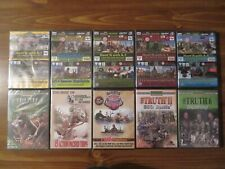 10 Brand New Sealed Hunting Dvd Lot; 6 Bow Deer Dvd'S. 4 Other. Elk. etc. Sports