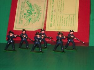 Glossy Painted Trophy Iron Brigade Civil War Soldiers with Original Box