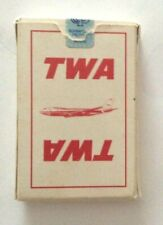 Vintage TWA AIRLINES Playing Cards  Trans World Airlines