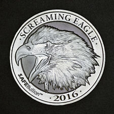 Screaming Eagle 1/2 oz .999 Silver Coin HD Harley Davidson Big Twin Motorcycle