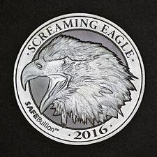 Screaming Eagle 2 oz .999 Silver Coin HD Harley Davidson Big Twin Motorcycle