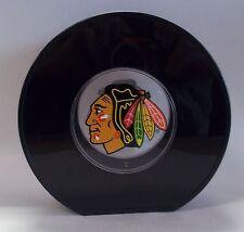 Chicago Blackhawks Hockey Puck Bank