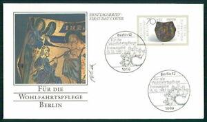GERMANY FDC 1987 GOLDSMITH SILVERSMITH ART JEWELLERY ff58