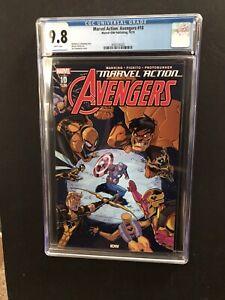 Marvel Action Avengers #10 Yellow Hulk CGC 9.8