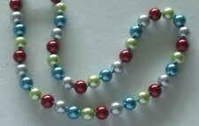 "10MM Multicolor #108 AAA South Sea Shell Pearl Necklace 18"" NEW (silk gift bag)"