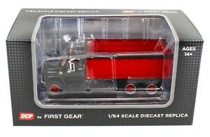 NEW 2020 1:64 DCP *BLACK & RED* Chevrolet C65 Tandem-Axle GRAIN TRUCK  *NIB*