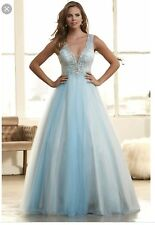 Mac Duggal Ice Blue ball Gown Beautiful On Stage!