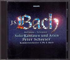 Bach Hoffmann Telemann cantata Peter ignoranti CD La mia anima stendendo e preist