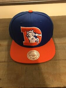 Denver Broncos Mitchell and Ness Snapback Hat