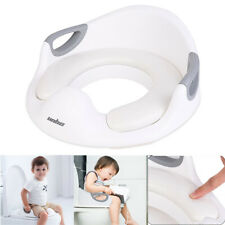 2 in1 Baby Toilet Seat Training Child Toddler Kid Safe Potty Trainer Chair Stool