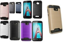lot 6 Armor Brushed Shockproof Protector Case Cover LG ARISTO 5 Moto G STYLUS