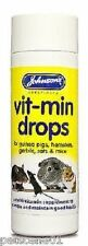 Johnsons Vit min Drops multi vitamin Small animals PostedTodayIfPaidBefore1pm
